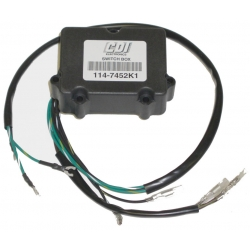 CDI Power Pack Switch box Mercury Mariner Force 6 t/m 35 pk buitenboordmotor. Origineel: 339-7452A1, 339-7452A2, 339-7452A3, 339