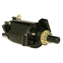 Starter motor/starter OMC Johnson Evinrude 35 HP (1996-2001) 25 35 25 & outboard engine. Original: 584818, 586277