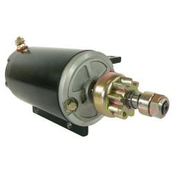 Starter motor/Starter OMC Johnson Evinrude 75 HP outboard 40 48 50 60 70 & 384163, 387684, 389275, 585063:, 586280