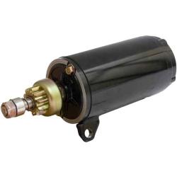 Johnson & Evinrude starter motor/Starter 120 125 130 140 (1985-2001). Original: 393570, 585060, 586285. (SIE18-5628)