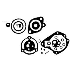 439074, 439075, 382052, 382053, 385356 - Carburateur Kit 5 t/m 85 pk (1954-1979)