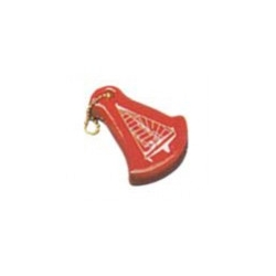 "Floating ""sailing boat"" keychain"