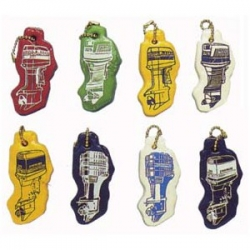 Floating, Evinrude, outboard motor, key chain