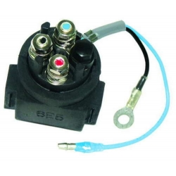 Power Trim Relais/Relay/Solenoid 100 to 225 HP Yamaha outboard engine. Original: 6E5-8195A-01