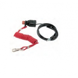 Dead man's cord with switch Yamaha 30 HP. Original: 6/8/25 & 6E9-82575-00, 6E9-82575-02