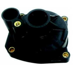 Enclosure-Evinrude (60 HP large housing), 3cil, 60/70 1960-1975 HP HP 4-stroke. Outboard engine. Original: 438543
