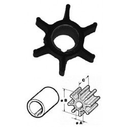 Johnson, evinrude, tailpiece, parts, 9-9, 15, HP, impeller