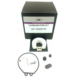 6G1-W0093-00 - Carburetor overhaul kit (4 to 8 hp) Mercury Yamaha Mariner & Tohatsu outboard engine