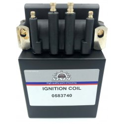 Bobine | Ignition Coil Johnson Evinrude Bombardier 2.2 t/m 175 pk. Origineel: 583740, 879614
