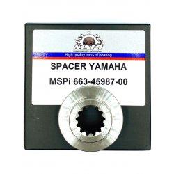 40XMH/40XE, 55ED/40/50 HP, 55ET spacer (spacer ring prop.). Order number: REC663-45987-00. L.r.: 663-45987-02-00, 663-45