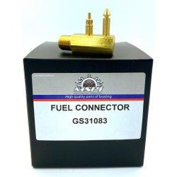 772681 - Fuel plug (6 mm hose) Johnson Evinrude outboard engine