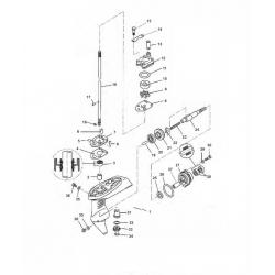 Staartstuk Onderdelen - Yamaha F2.5 (2003-2013)