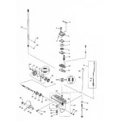 Staartstuk Onderdelen - Yamaha F4 F5 & F6