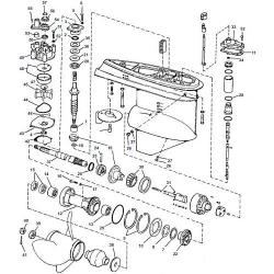 V6 (1976-1978) Hydraulic Shift Evinrude