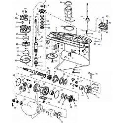 V4 & V6 (1979-2006) Johnson Staartstuk Onderdelen
