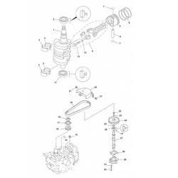 F 9.9 F 13.5 & F15-Crankshaft