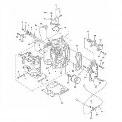 F 9.9 F 13.5 & F15-Motor base (part 2)