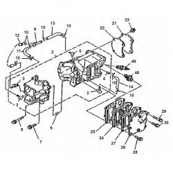 4 & 5 horsepower engine block Parts