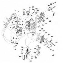 E8D & E8DMH-Engine Block Parts