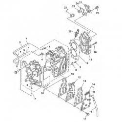 9.9 F 13.5 AMH & 15F-engine block Parts
