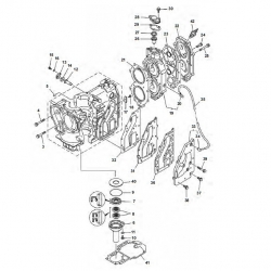 25 & 30 HP-Block parts (2 cylinder)