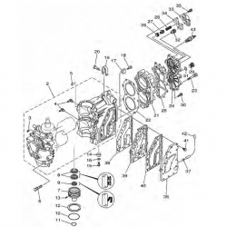 E40JMH E40JWH 40GWH E40GMH/S/L & 40JWH (2003/04)-engine block Parts