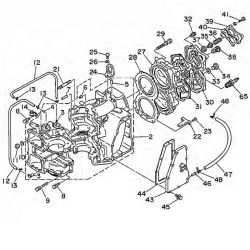 48 & 55 horsepower engine block Parts