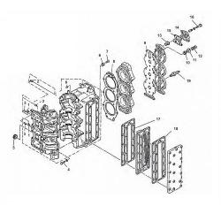 75-85 HP engine block Parts &