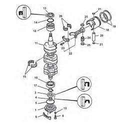 85 HP-75 & Crankshaft Parts