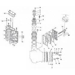 140-horsepower engine block 90 100 115 130 & Parts