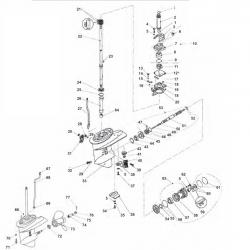 Staartstuk Onderdelen - Yamaha F20 & F25